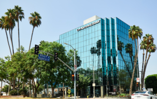 office building for corporate photography