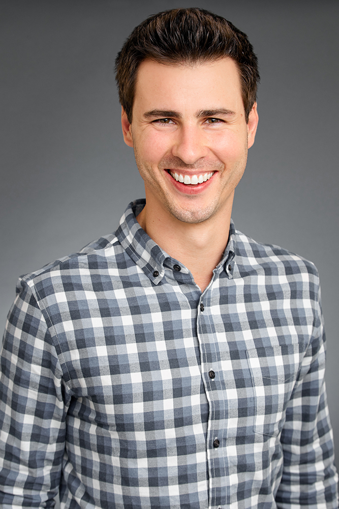 young professional smiling professional headshots