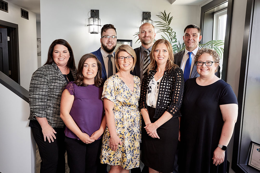 webster & garino legal team business photography